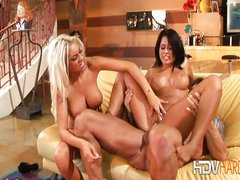 Eva Angelina and Tiffani DiGivanni Threesome