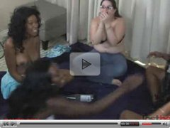 These five girls play some hot naked games