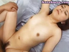 Asian Fills Her Pussy Wine Enema