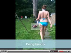 Wife doing Laundry!!!