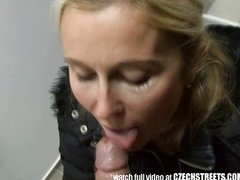Blonde MILF Picked up on Stre