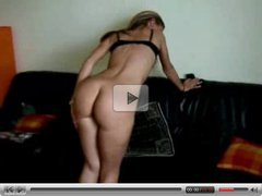 Horny Blonde Babe Fucked From Behind