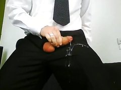Cum On My Suit Trousers