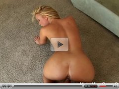 Blonde Sasha wants to be fucked in her ass