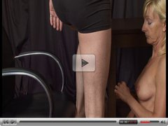 British MILF Pippa Models First Audition