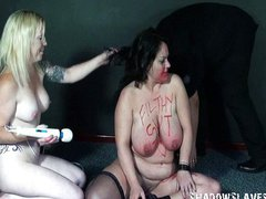 Bizarre lesbians rough humiliation and domination