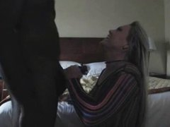 Black Boss Fucks Blonde Female Manager in Hot