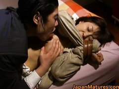 Japanese woman is kinky and mature