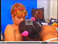Brazilian Chick And Shemale Get It On