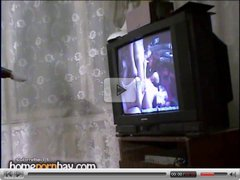 Russian amateur couple fucking at home 1
