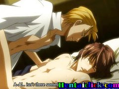 Sexy hentai boys anal sex and love