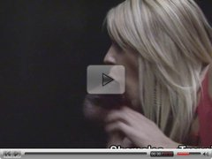 Amateur trannies suck cock at the gloryhole