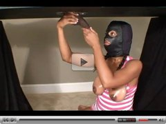 Table Glory Hole Handjob By A Nice Black Girl