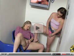 Vicky Vixen and Emily Eve sharing nameless black cock