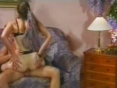 German vintage hard anal fuck and fisting