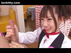 Japanese Waitress Banged
