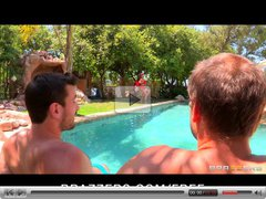 Brazzers- Hot lifeguard with huge-tits fucks by the pool
