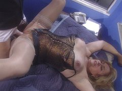 Stamina pussy fucking for blond mature