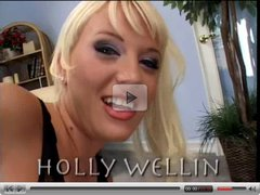 Holly Wellin DP creampie