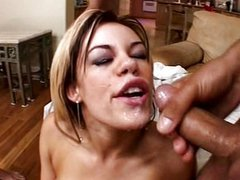 Gia Paloma Threesome deepthroat