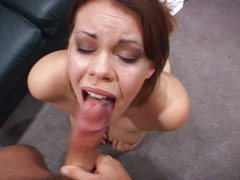 Gia Paloma gets cum on her eye