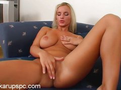 beautiful simona with amzing breasts solo