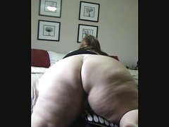 Huge FAT ASS Pussy Play