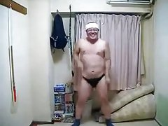 For the Ladies & Gays: Sexy Man does Japanese Dancing