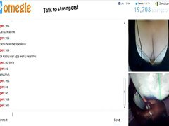Omegle 88 (Women Juggling her big tits for cum)