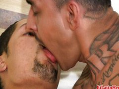 Hot gay latino men with big uncut dicks suck