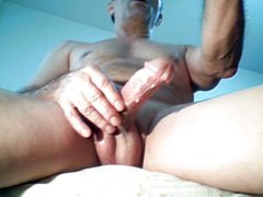 Intense Masturbation on webcam and great cums