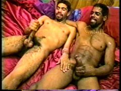 Good black wank and blowing friends