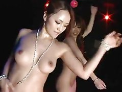 Japanese chick nake in club