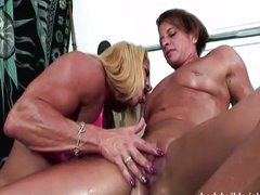 Lesbian bodybuilders with a big clit