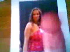 Stephanie McMahon Cum Tribute #2