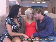 Teen Joins Swinger Couple