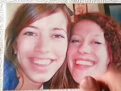 Cumtribute to chloefunfun and friend