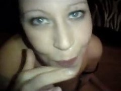 UK Slut Helen BJ & Facial
