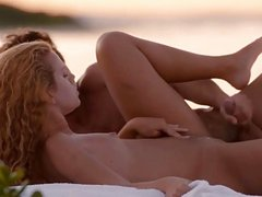 Pussy licking and sex by the sea
