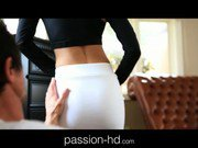Passion-HD Teen pays rent with her tits and pussy
