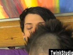 Hot twink scene When bored teen youngsters
