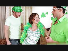 St Pattys day threesome