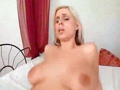 Big Tits Blonde Takes Black Cock and Facial - frmxd com