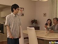 AzHotPorn.com - Horny MILF Fertilization Asian MILF