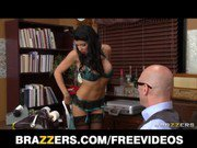 Romi Rain is desperate for a raise  fucks her boss to earn it