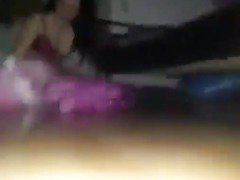 Pumping Teen Pussy On The Floor