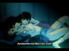 Woman sucks the cunt of the cute girl - anime hentai movie