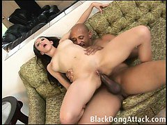 Jay Starr is getting a BBC in her assJay Starr is getting