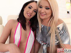 We could not manage to keep these two horny girls from