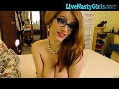Redhead Webcam Girl With Hitachi 1